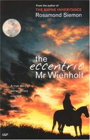 Cover of: The Eccentric Mr Wienholt