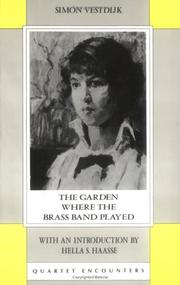 Cover of: Garden Where the Brass Band Played (Quartet Encounters)