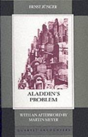 Cover of: Aladdin's Problem (Quartet Encounters)