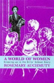 A world of women by Rosemary Auchmuty