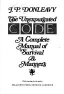 Cover of: Unexpurgated Code