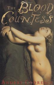 Cover of: The Blood Countess: a novel