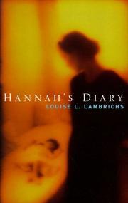 Hannah's diary