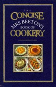 Cover of: The Concise Mrs. Beeton's Book of Cookery (Mrs Beeton)