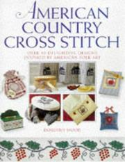 Cover of: American Country Cross Stitch