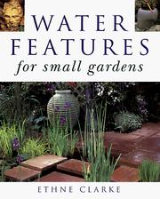 Cover of: Water features for small gardens