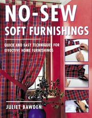 Cover of: No-sew soft furnishings
