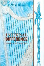 Cover of: Internal difference