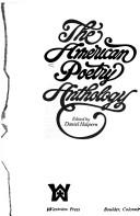 Cover of: The American poetry anthology |