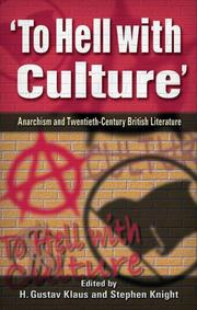 Cover of: 'To hell with culture' by