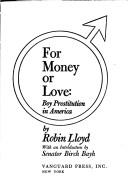 For money or love by Robin Lloyd