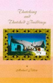Cover of: Thatching and Thatched Building