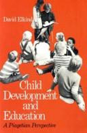Cover of: Child development and education