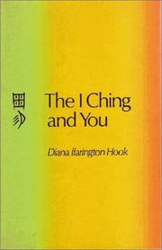 Cover of: I Ching and You | Diane F. Hook