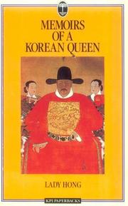 Cover of: Memoirs of a Korean Queen | Lady Hong
