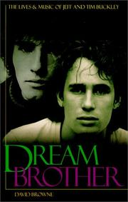 Cover of: Dream Brother | David Browne