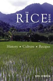 The Rice Book by Sri Owen