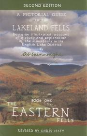 Cover of: Pictorial Guide to Lakeland Fells, Book One (The Eastern Fells) | A. Wainwright