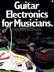 Cover of: Guitar electronics for musicians | Donald Brosnac