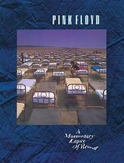 Cover of: Pink floyd - a momentary lapse of reason
