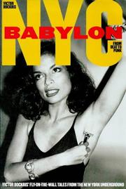 Cover of: Nyc Babylon From Beat to Punk