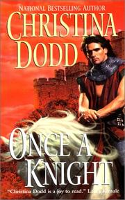 Cover of: Once a Knight