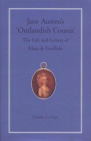 Cover of: Jane Austen's 'outlandish cousin'