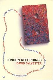 Cover of: London Recordings