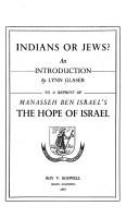 Cover of: Indians or Jews? | Lynn Glaser