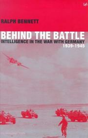 Cover of: Behind the battle