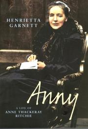 Cover of: Anny | Henrietta Garnett