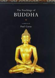Cover of: The Teachings of Buddha