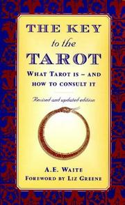 Cover of: The Key to the Tarot