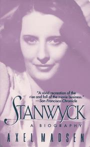 Cover of: Stanwyck | Axel Madsen