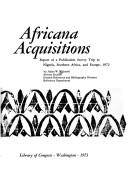 Cover of: Africana acquisitions