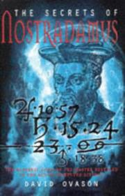 The Secrets of Nostradamus by David Ovason