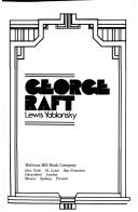 Cover of: George Raft