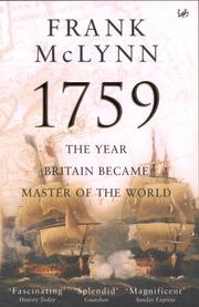 Cover of: 1759
