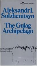Cover of: Arkhipelag GULag, 1918-1956