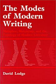 Cover of: Modern Literary Theory