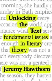 Cover of: Unlocking the text