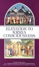 Cover of: Elevation to Krsna consciousness
