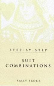 Cover of: Suit Combinations in Bridge | Sally Brock