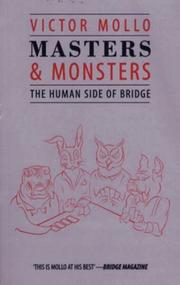 Cover of: Masters and Monsters