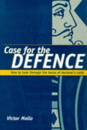 Cover of: Case for the Defence