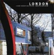 Cover of: London (Guide to Recent Architecture)