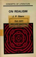Cover of: On realism