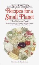 Cover of: Recipes for a Small Planet