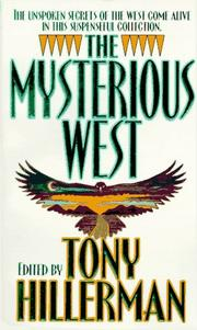 Cover of: The Mysterious West: Stories of Suspense