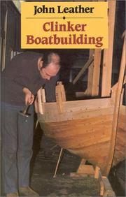 Cover of: Clinker Boatbuilding | John Leather